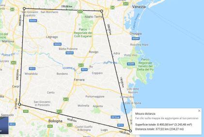 Quadrilatero Modena Ravenna Padova Verona